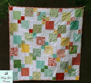 Name quilting stitch and slice baby quilt charm pack