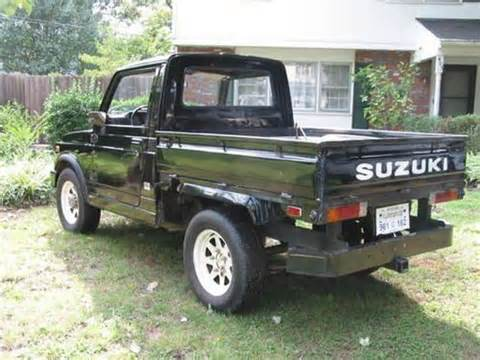 Suzuki Samurai Truck For Sale Purchase Used 1982 Suzuki Sj410k Samurai Truck