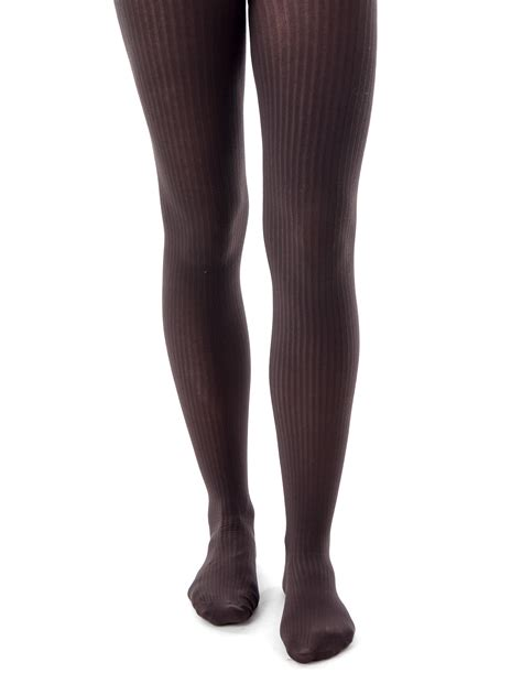 brown patterned tights uk falke tights tight cotton elegance brown opaque pinstripe