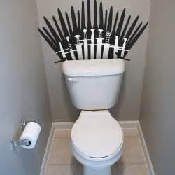 of thrones toilet game of thrones inspired re positionable toilet decal ships free