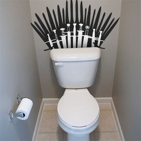 game of thrones toilet game of thrones inspired re positionable toilet decal