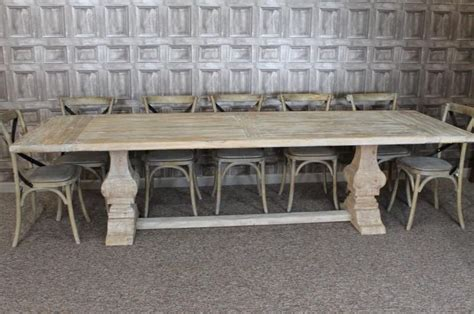 white distressed kitchen table large 3m distressed limed elm dining table white washed