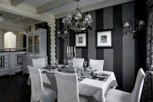 Black Dining Room Furniture Decorating Ideas Black And White Dining Room Home Design Furniture And