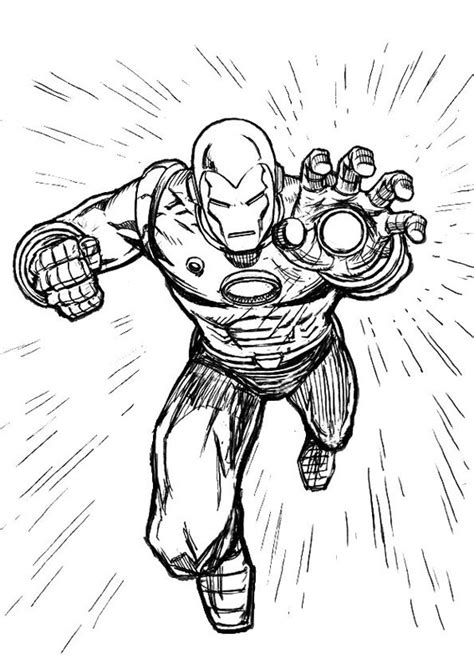iron man comic coloring pages 60 disegni di iron man da colorare pianetabambini it