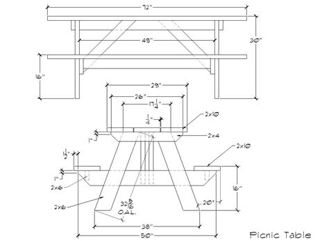 picnic bench dimensions how to build 6 foot picnic table plans pdf plans