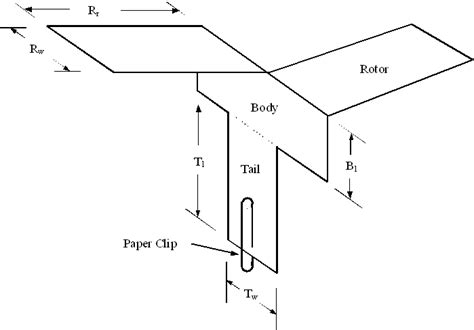 How To Make A Whirlybird Out Of Paper - experimental optimum engineering design