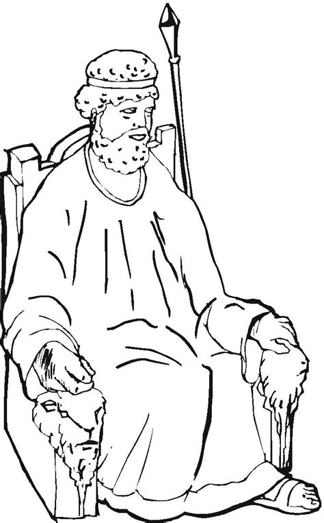 Coloring Page Of Samuel And Eli Samuel Coloring Pages From The Bible