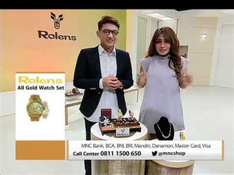 Jam Tangan Rolens rolens all gold
