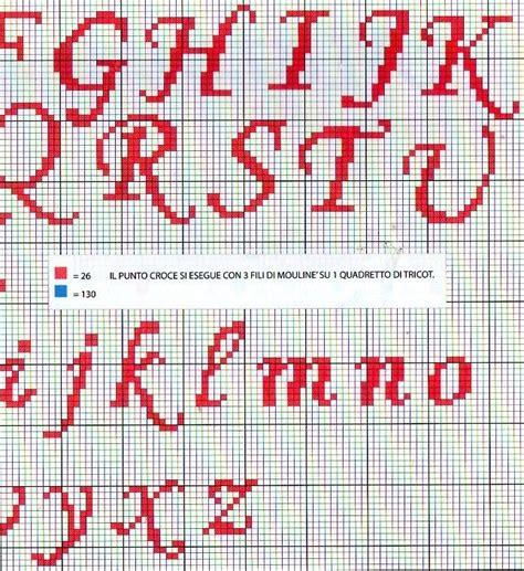 lettere punto croce da stare lenzuolino bimba punto croce uccellini e nome 4
