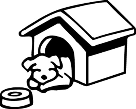 coloring sheet of a dog house dog house coloring pages