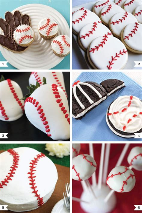 Halloween Decorations Home Made by Baseball Party Desserts Chickabug