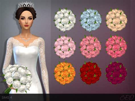 Arrangement Flowers by Beo Creations Wedding Bouquet Sims 4 Downloads
