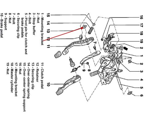 clutch embly diagram 1995 vw golf iii diagram auto parts
