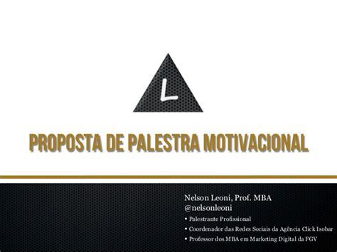 Wtamu Mba Portfolio Pdf by Portf 243 Lio De Palestra Motivacional