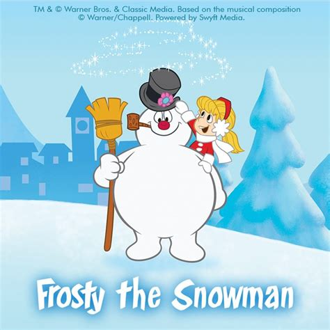 frosty the snowman clipart backgrounds