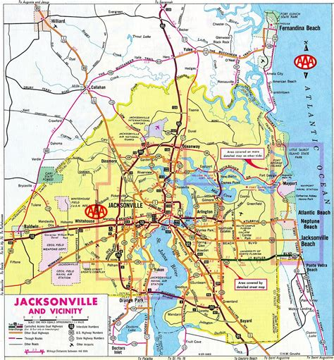 map of jacksonville official website of the city of jacksonville florida