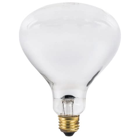 lavex janitorial 250 watt infrared heat lamp light bulb