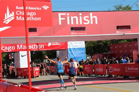 The Bank Of America Chicago Marathon Selects 2018 Field
