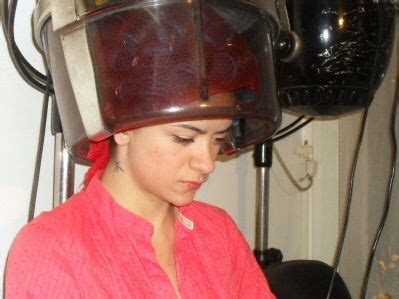 in curlers under dryer 244 best images about netted under dryer on pinterest