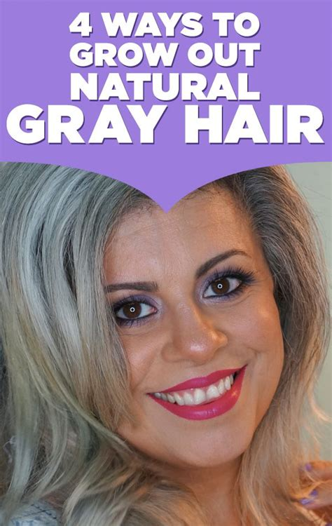 how to grow out gray hair that has been dyed here are 4 ways to grow out natural gray hair if you re