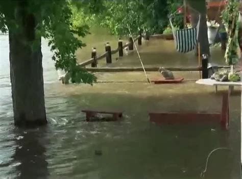 backyard flooding problems fox river crests flooding problems persist story
