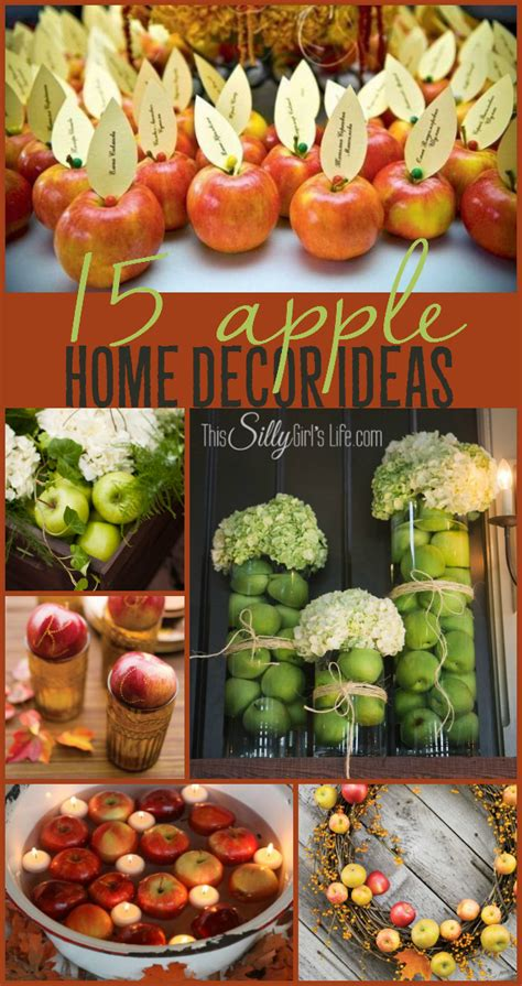 apple home decor 15 apple home decor ideas this silly girl s kitchen