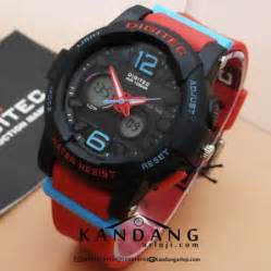 Digitec Original Dg 2073 Black by Digitec Dg 2072t Black Jam Tangan Sporty Original