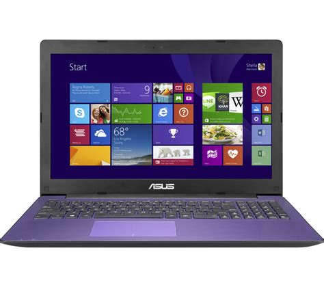 Asus X553sa 15 6 Inch Laptop buy asus x553sa 15 6 quot laptop purple free delivery currys