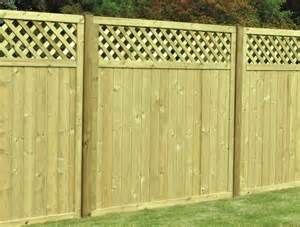 Trellis Topped Fence Panels timber fence panels free delivery available free delivery available