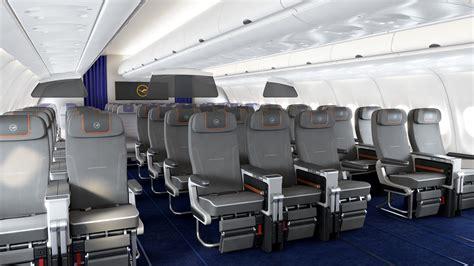 siege premium economy air cabine premium economy de lufthansa sur l airbus a340