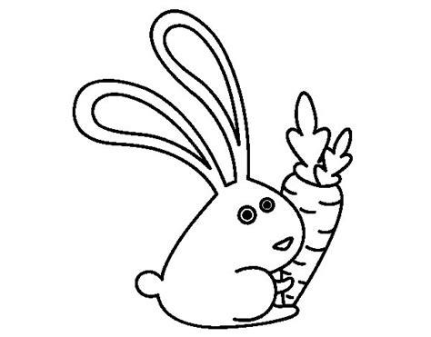 imagenes animadas de zanahorias para colorear image gallery dibujo conejo