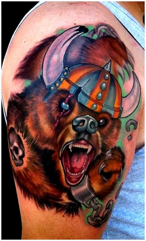 bear sleeve tattoo designs 35 designs for your animalistic side