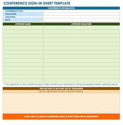 sign in template free sign in and sign up sheet templates smartsheet