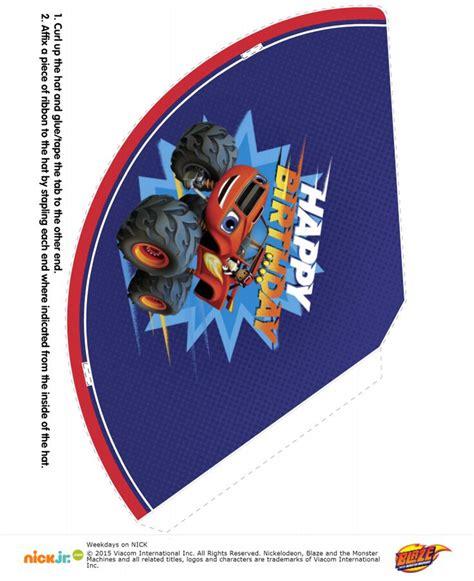 printable blaze birthday banner http eng ohmyfiesta com 2015 09 blaze free printable