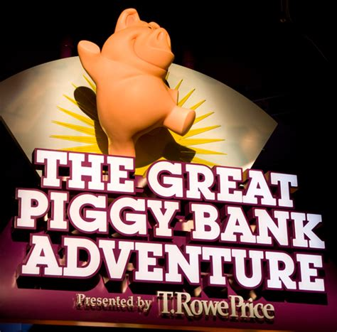 the great piggy bank adventure the great piggy bank adventure at epcot wdw and disney