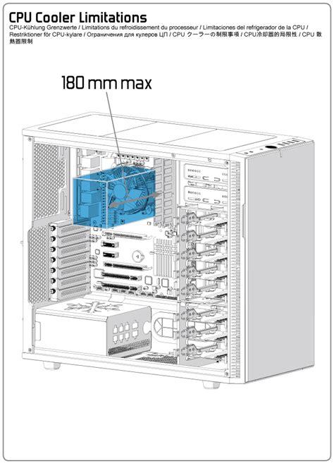 design limitations definition fractal design define r5 cpu cooler limitations fractal