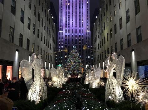 weihnachtsmarkt new york rockefeller christmas weihnachten in new york vintageherz