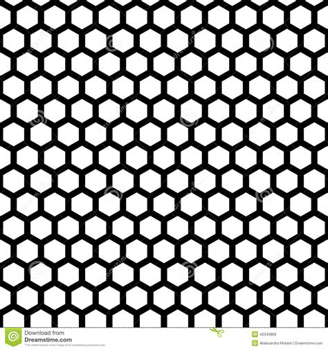 honeycomb pattern corel draw vector honeycomb seamless pattern stock vector illustration of