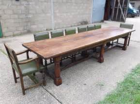 Large Dining Table Seats 14 Large Antique Dining Table Nearly 13ft Jacobean Revival Walnut Refectory Table To Seat 14