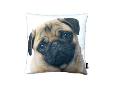 pug pillow stella pug pillow