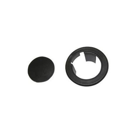 Patio Umbrella Table Ring Black Plastic Patio Umbrella Table Ring Fpj000001b The