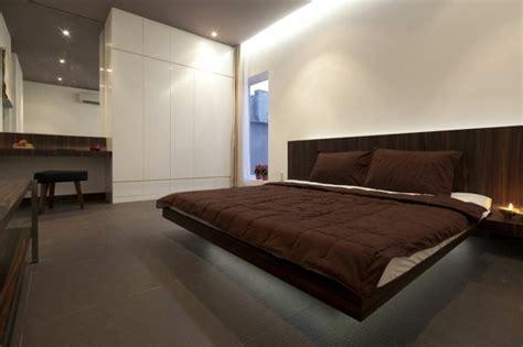 modernes minimalistisches schlafzimmer schwebendes bett moderne vorschl 228 ge