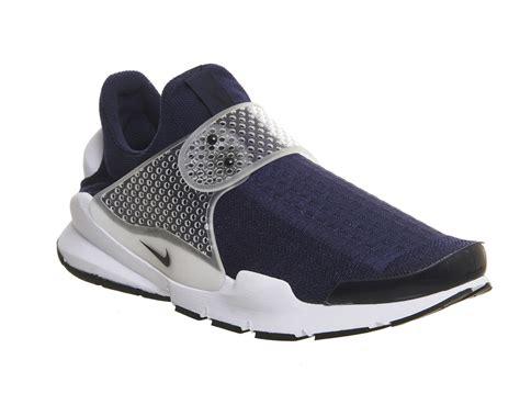 Nike Sockdart Navy nike sock dart midnight navy black grey white unisex sports