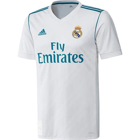 Jersey Real Madrid 3rd Away 1617 Sleeves Cetak Nama Patch adidas real madrid 17 18 home replica s sleeve jersey ultra football