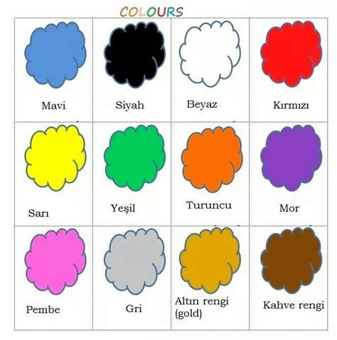 what color are turkeys 17 best images about learning turkish on