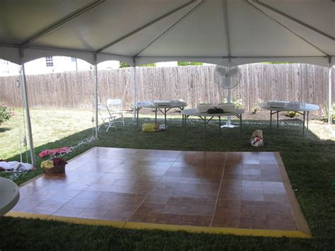 rent a backyard for a party tent rentals long branch nj