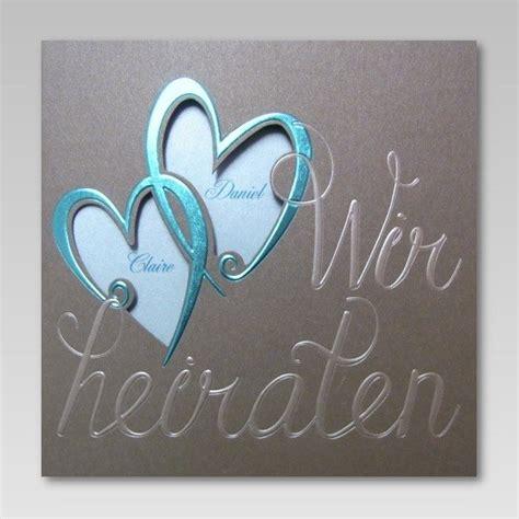 Hochwertige Hochzeitseinladungen by Hochwertige Einladungskarte Zur Hochzeit Mit Schriftzug