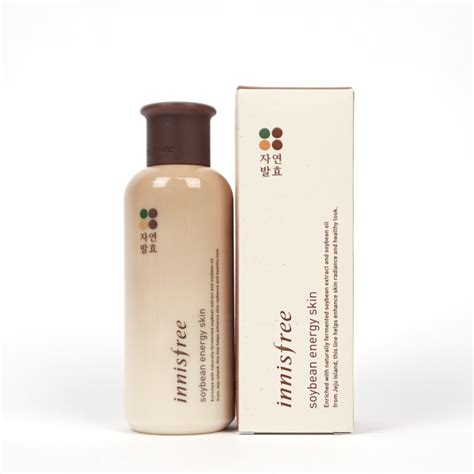 innisfree soybean energy innisfree soybean energy skin review