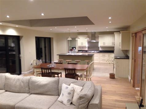 Dining Room Kitchen Knock Through Kitchen Door Knocked Through To An Extension