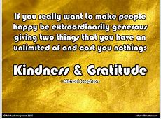 Kindness & Gratitude - What Will Matter Indiana University Of Pa Police